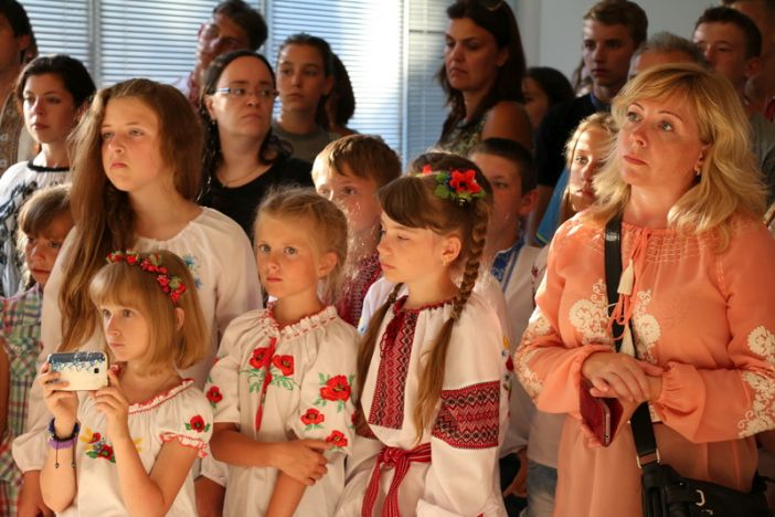 "Otvorena izložba ""Donbas: Mir i rat"""