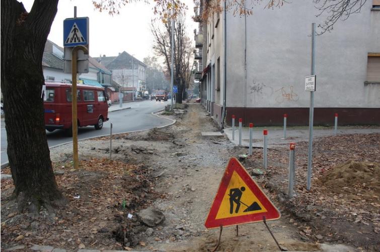 U tijeku su radovi na rekonstrukciji dijela pješačke staze u Gupčevoj ulici