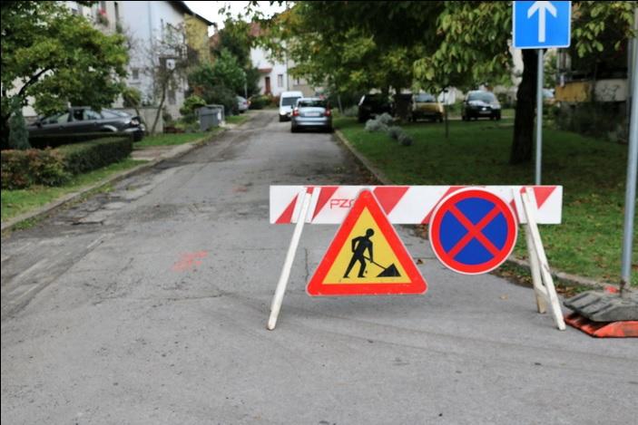 Obavijest građanima; radovi na modernizaciji ceste u Štamparevoj ulici