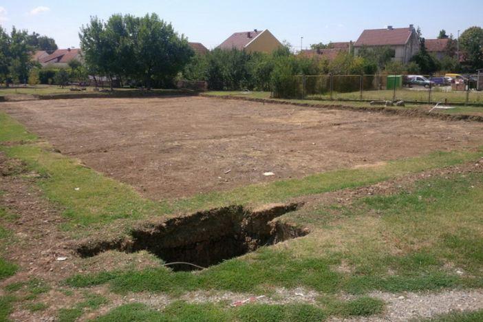 U tijeku radovi na izgradnji malonogometnog igrališta na umjetnoj podlozi na Koloniji