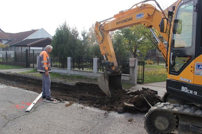 Započeli radovi na modernizaciji ceste u Ulici Matije Ivanića
