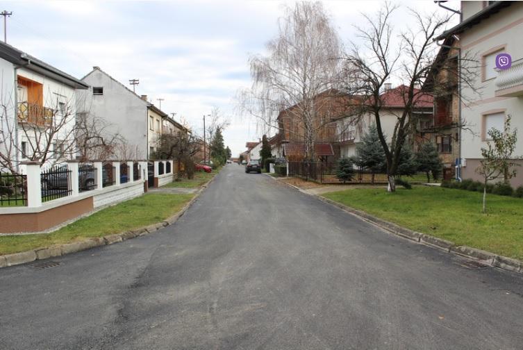 Ulica Matije Ivanića dobila moderniziranu cestu