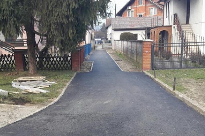Primjer otvorene komunikacije s građanima; asfaltiran pješački prolaz iz Vidrićeve u Nalješkovićevu ulicu
