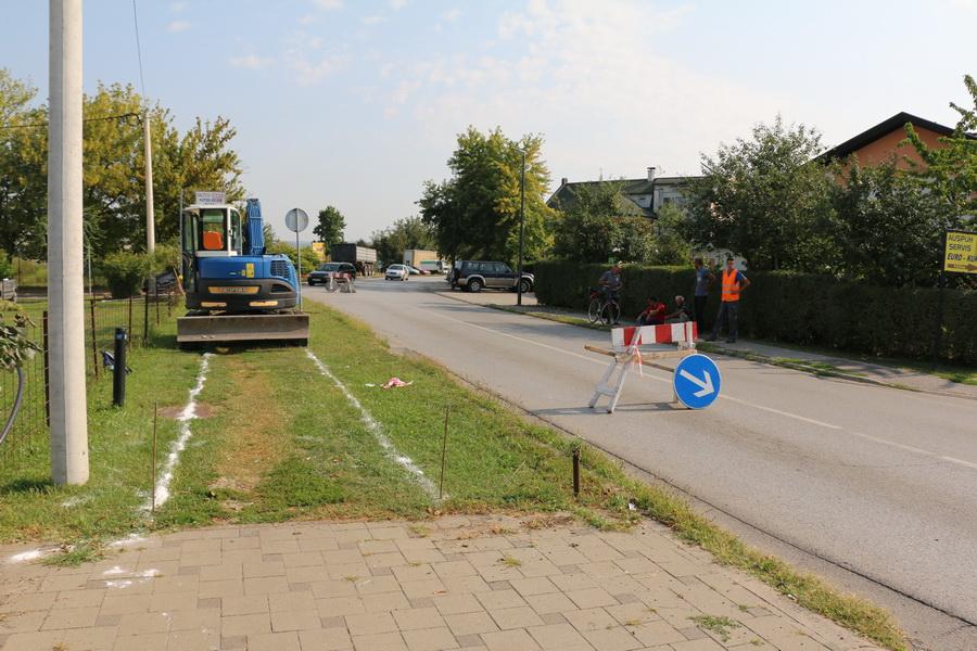 Primorska ulica dobiva novu pješačku stazu