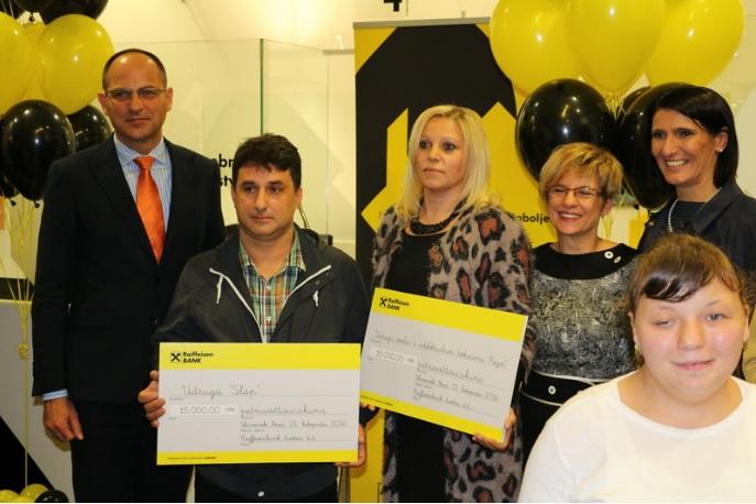 Obilježena 15. godišnjica otvaranja prve poslovnice Raiffeisen Austria bank d.d u Slavonskom Brodu