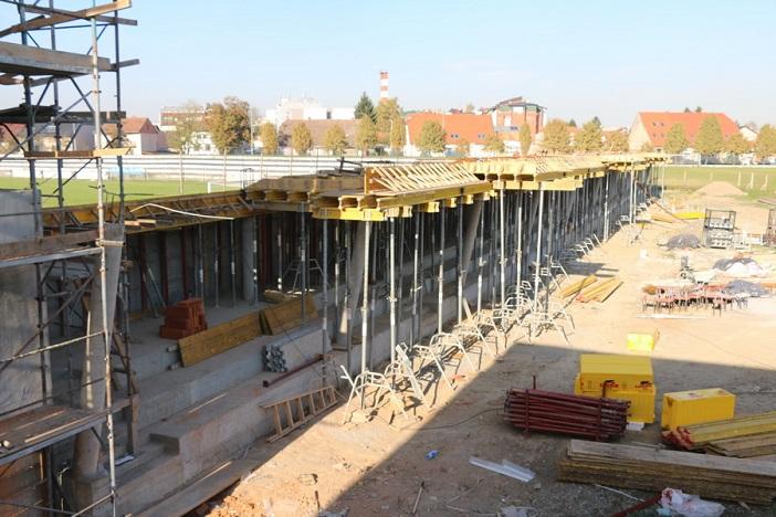 Napreduju radovi na izgradnji Istočne tribine stadiona uz Savu