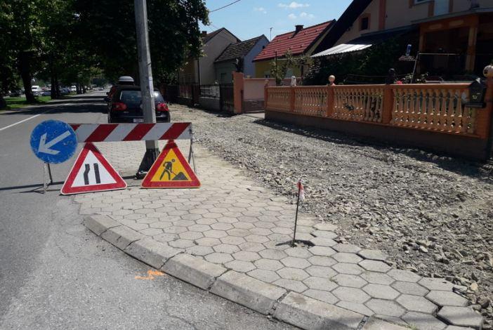 Započela izgradnja biciklističke i pješačke staze u Ulici sv. Lovre