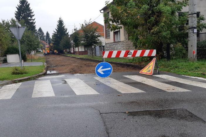 Započeli radovi na modernizaciji Ulice Frana Mažuranića