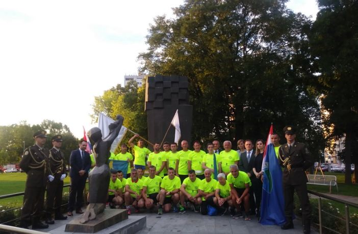 """Održan 12. ultramaraton """"108 kilometara za 108. brigadu"""""""