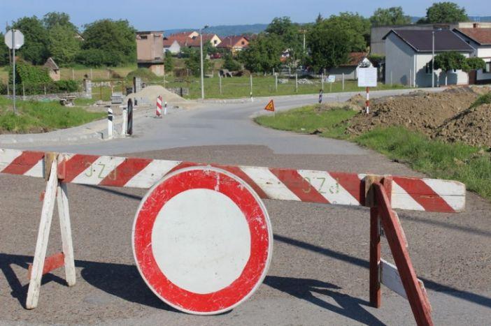 Obavijest o zatvaranju prometnice