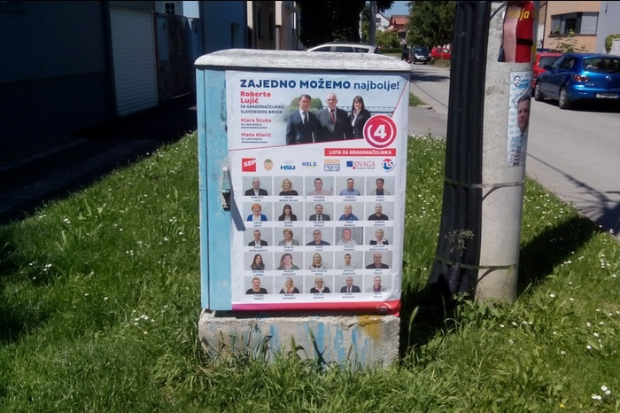 Javno reagiranje na upozorenje iz gradske uprave o lokacijama za postavljanje plakata