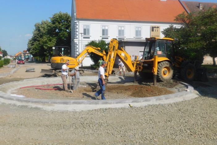 U tijeku radovi na izgradnji novog kružnog toka u Novoj Gradiški