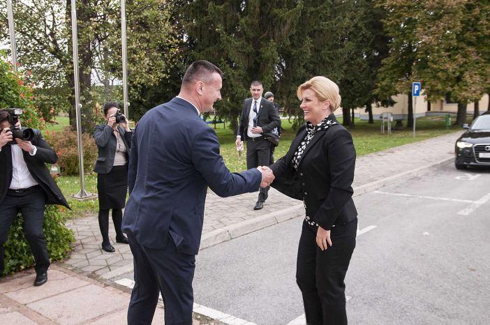 Predsjednica Kolinda Grabar-Kitarović u Brodsko-posavskoj županiji