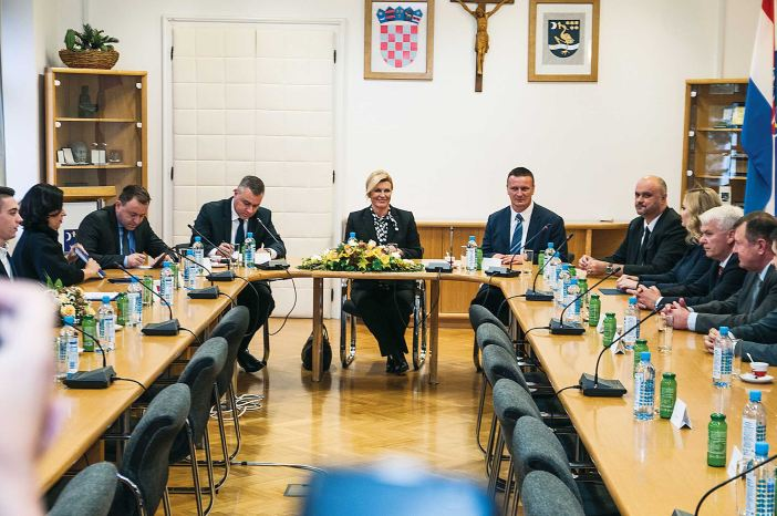 Predsjednica Grabar Kitarović u Slavonskom Brodu: Uskoro će biti potpisan protokol.