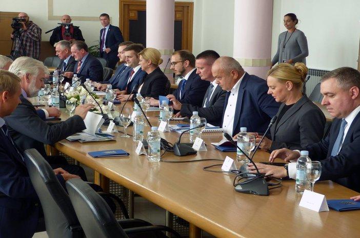Na sastanku Predsjednice nazočio i Sergej Kudrjašov, generalni direktor tvrtke Zarubežnjeft