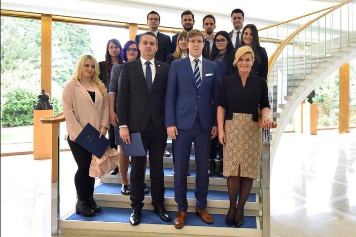 Brođani u Vijeću mladih Predsjednice Republike Hrvatske