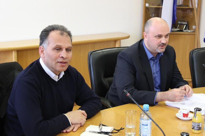 Saborski zastupnik Veljko Kajtazi kod predstavnika Grada Slavonskog Broda