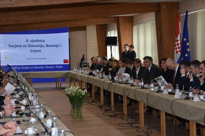 U Virovitici održana 4. sjednica Savjeta za Slavoniju, Baranju i Srijem