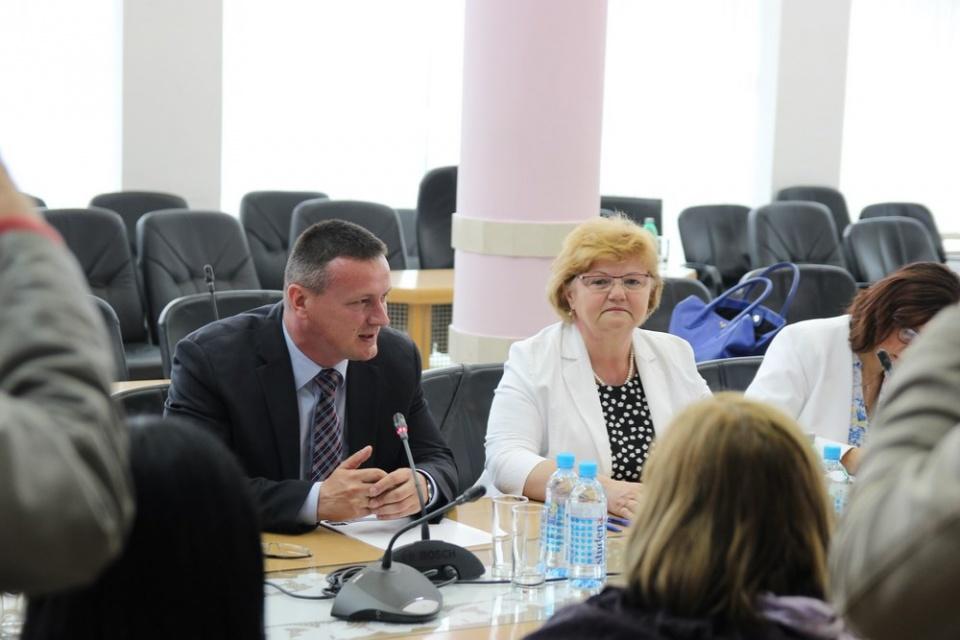 Ministrica Nada Murganić posjetila jučer Brodsko-posavsku županiju