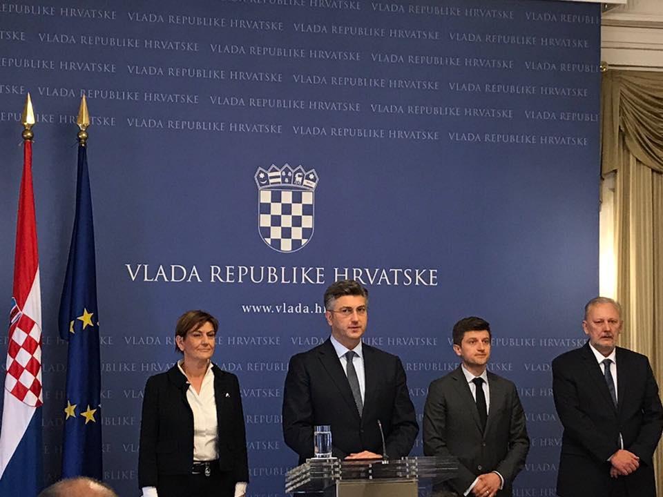Premijer Plenković u pratnji deset ministara sutra u Slavonskom Brodu