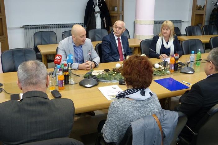 """Vlado Prskalo: """" Stvaranjem regionalnih centara kompetentnosti poboljšala bi se važnost i kvaliteta strukovnog obrazovanja."""""""