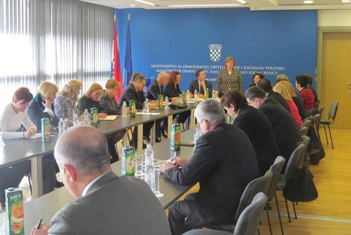 Međuresorna suradnja ključna za uspješno provođenje socijalne politike