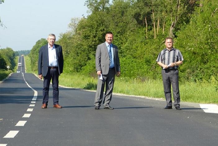 Župan Marušić obišao realizrane cestovne objekate ŽUC-a