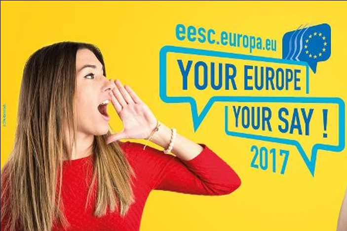 "Natječaj za srednje škole ""YOUR EUROPE, YOUR SAY! 2017"""