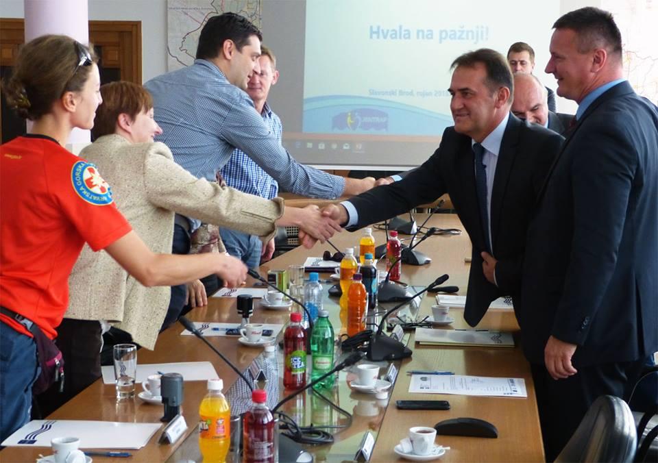 Potpisani sporazumi o korištenju opreme iz projekta JENTRAP