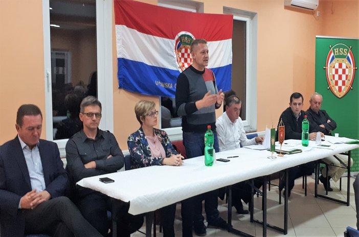 Krešo Beljak na županijskom skupu HSS-a u Radovanju