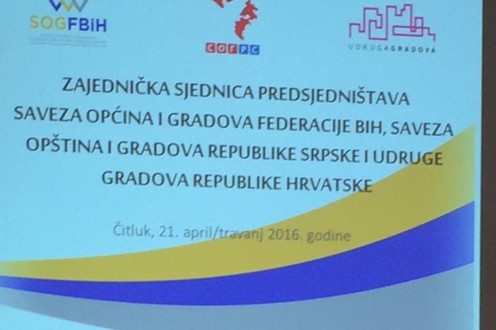Mirko Duspara na prvoj sjednici Predsjedništava tri saveza lokalnih vlasti iz RH i BiH