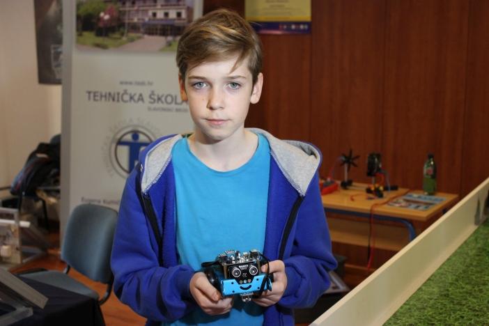 13-godišnji Kristijan Ivanković iz OŠ Đuro Pilar o robotici, budućnosti i Croatian Makers ligi