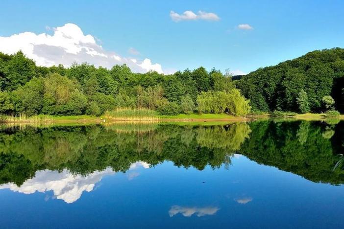 Šetnja, ribolov i veslanje na jezeru kojemu vodu daje 15-ak diljskih izvora