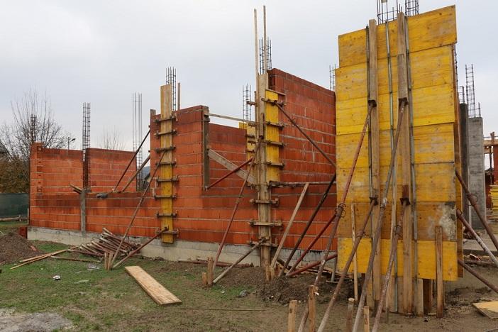 Trenutna faza radova na gradilištu novog mjesnog doma na Koloniji