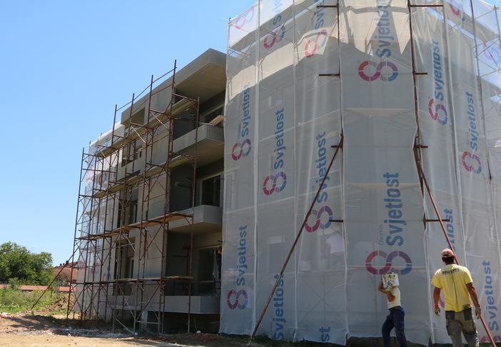 Napreduju radovi na izgradnji stanova za mlade obitelji