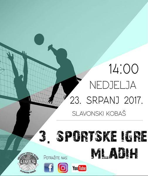 3. Sportske igre mladih u Slav. Kobašu