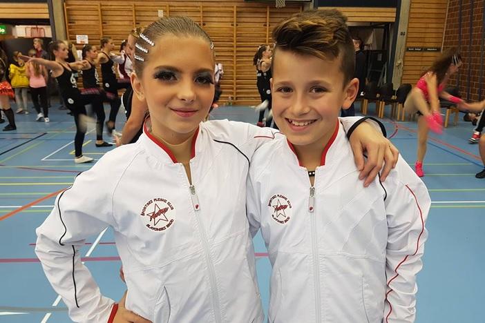 ŠPK Astra - Mia i Marko 18. na Svjetskom kupu u Švicarskoj