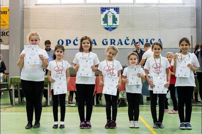 ŠPK Astra - 15 medalja na Međunarodnom kupu u Gračanici
