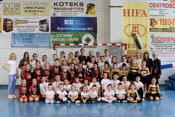 ŠPK Astra - 12 medalja na međunarodnom natjecanju u Tešnju