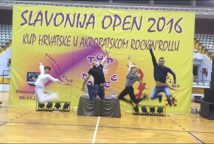 Top dance odlično organizirao 22. Slavonija open u akrobatskom rock and rollu
