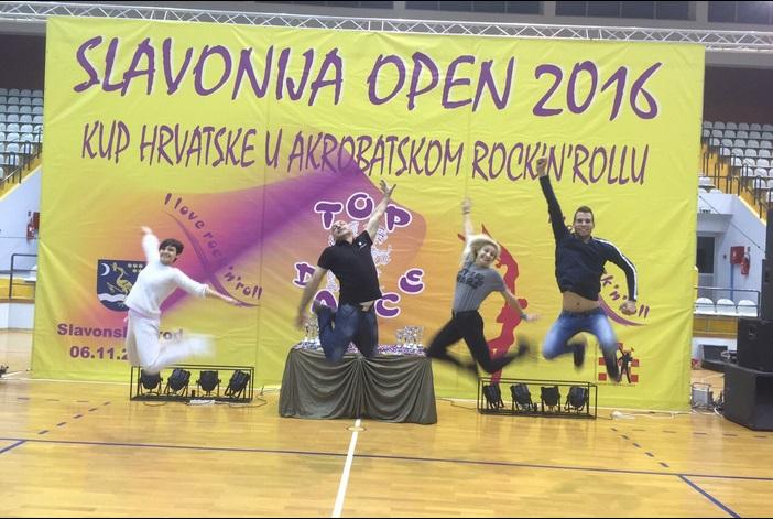 Top dance odlično organizirao 22. Slavonija open u akrobatskom rock and rollu