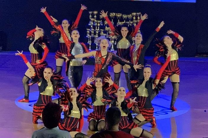 Slavonski Brod grad bio je domaćin Svjetskog kupa u akrobatskom rock'n'rollu