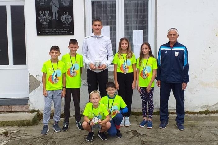 Odličan nastup mladih brodskih atletičara  na 24. Žumberačkoj utrci