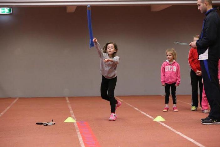 Mlade brodske atletičarke nastupile u djećjem bacanju koplja