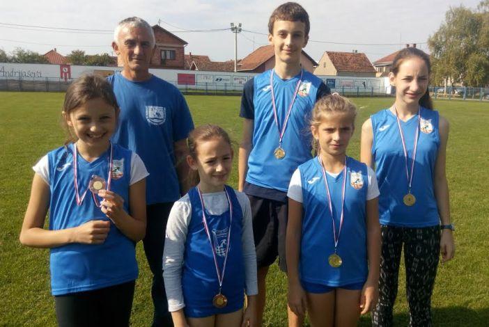 Pet medalja za atletičare Marsonije