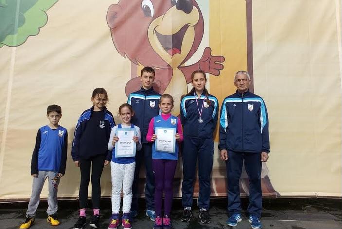 Tri postolja za atletičare Marsonije na utrci u Koprivnici