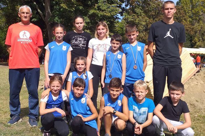 Odlični rezultati mladih atletičara Marsonije