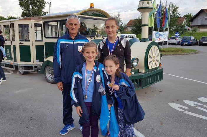 Atletičarke Marsonie osvojile tri medalje u Kopačkom ritu