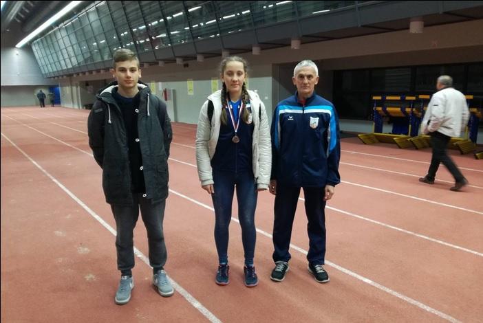 Marti Šarac brončana medalja na prvenstvu Slavonije i Baranje