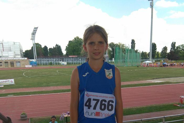 Petra Lesar nastupila na državnom prvenstvu u višebojima